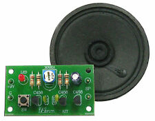 "MORSE CODE KEYER WITH 2.5"" SPEAKER Assembled Kit 9VDC For Education  [ FA938 ]"