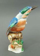 Herend Eisvogel, Modell-Nr. 5069, Vogel Figur, Datiert 1943, 1.Wahl, Höhe 21 cm