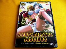 PENSAMIENTOS LASCIVOS - Serie completa 2 ep. 60 min. - Precintada