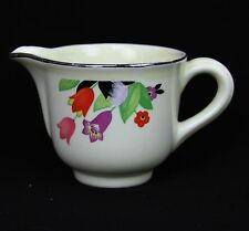 Vintage Hall China Superior Quality Kitchenware Crocus Creamer Cream Pitcher