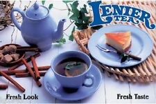 Lenier's Decaf. Peach Black Leaf Tea 4oz  Free Shipping