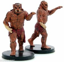 D&D mini SPELLSTITCHED HOBGOBLIN ZOMBIE x2 Deathknell #43 Dungeons & Dragons nc
