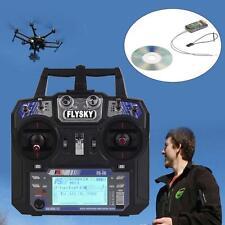 Flysky FS-i6 AFHDS 2A 2.4GHz 6CH Radio System Transmitter FS-iA6 6CH Receiver DH