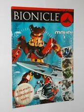 Lego Bionicle Mahri 1 Polish Issue Comic. 2007.