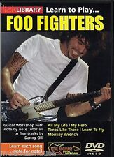 Learn To Foo Fighters Lick Library Gitarre DVD neue Stück
