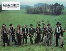 JAMES KEACH DAVID KEITH ROBERT CARRADINE THE LONG RIDERS 1980 9 LOBBY CARDS LOT