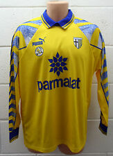 VINTAGE PUMA PARMA FOOTBALL SHIRT CAMISETA JERSEY LONG SLEEVE RARE 1996/1997 M