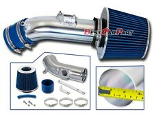 BCP BLUE For 2010-2012 Mazda3 3 2.5 2.5L L4 Air Intake Induction Kit +Filter