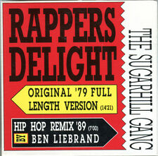 THE SUGARHILL GANG - RAPPERS DELIGHT - 3 INCH MAXI CD 1989