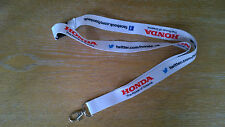 Honda Yuasa The Power of Dreams lanyard BTCC F1 BSB
