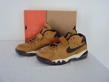 ORIGINALE Nike Air Force Max LEATHER Wheat CB 34 Barkley One Taglia: US: 8/41 NUOVO