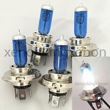 Combo 2 Pair H4/9003-HB2 White 5K 100/90W Xenon Halogen Headlight #e2 Light Bulb