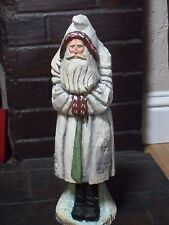 """Anthony Costanza Silvestri Resin/Wood Santa Claus 15"""" Tall Number 2012/5000 LTD"""