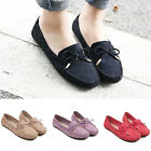 Womens Fashion Bowknot Comfy Ballet Shoes Casual Party Slip On Flats Loafers