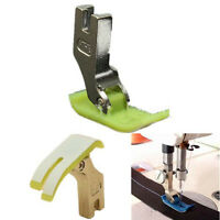 2pcs Industrial Sewing Machine Teflon Foot Heavy Brother Singer Janome Toyota HG