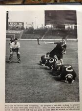 A1-3 Ephemera 1940s Picture Football Norman Smith P T Training Chelsea F C