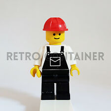 LEGO Minifigures - 1x ovr007 - Construction Worker - Omino Minifig Set 6543 6541