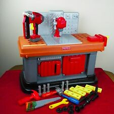 Fisher Price Grow With Me Workshop Workbench Tools Accessories Nailer Drill