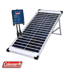 400 Watt Lot of 10 x 40 Watt Coleman Crystalline Solar panel W/Stand Free Ship