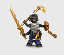 Lego Ninjago Lord Garmadon 9450 Minifigures with 4 Arms Weapon