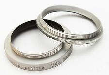Kodak 38mm Thread to Series VI (6) Filter Adapter w/Retaining Ring Step No. 628
