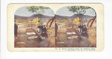 Ingersoll Stereoviews: Port Arthur #20, Boiling Drinking Water for Japanese Camp