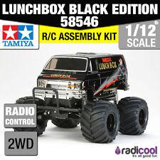 58546 TAMIYA Lunch Box Black Edition 1/12th R/C KIT Furgone RADIOCOMANDATO 1/12