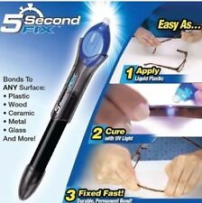 5 Second Fix Liquid Plastic UV Welding Kit Fix Repair & Seal Wood Glass Fabric