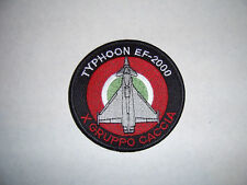 PATCH  X GRUPPO CACCIA - TYPHOON EF-2000