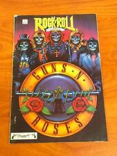 Rock n Roll comics #1 Guns n Roses 2nd Print VG Revolutionary