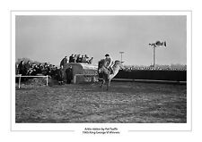 ARKLE PAT TAAFFE 1965 KING GEORGE VI HORSE RACING A4 PHOTO