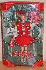 2001 collector edition coca-cola pom-pom girl barbie