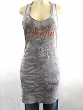 Women's Sinful by Affliction Graphic Tank Top shirt Size L