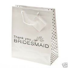 Bridesmaid Gift Bag, Wedding Favors, Hotel Reception, Bridal Shower Bridal Party