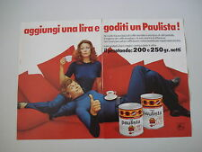 advertising Pubblicità 1972 CAFE' CAFFE' PAULISTA