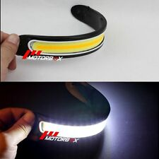 1 Pair 12V LED COB Car DRL Fog Driving Daytime Running Lamp Turn Light Off road