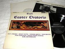 "Munchinger/Stuttgart ""Bach: Easter Oratorio"" 1969 LP, Nice EX!, London OS 26100"
