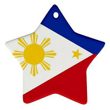 NEW Philippines Filipino Flag for Star Ornament one side Free SHipping