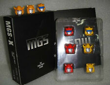 MGS-X Head Sculpt parts for Transformers Classics Cliffjumper Bumblebee Goldbug