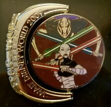 Star Wars Weekends 2009 - Separatists General Grevious and Ventress LE 1000 Pin