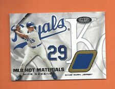 2002 HOT PROSPECTS MIKE SWEENEY GAME-USED JERSEY #HM-MS KANSAS CITY ROYALS