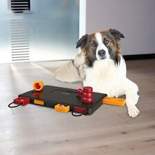 Interactive Dog Toys Puzzle Pet Food Treat Dogs Tough Play Fun Playing Mental