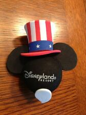 Disney Antenna Topper Mickey Mouse Flag USA America Uncle Sam Red White Blue
