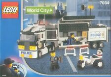 NEW Lego Town City POLICE 7034 Surveillance Truck SEALED 2003'