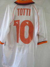 Roma 1997-1998 Totti 10 Away Football Shirt Large  /34738