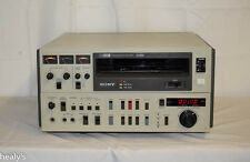 Sony VO-5850P  U-matic Video Cassette Recorder