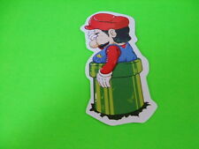 STUCK MARIO Sticker/ Decal Bumper Stickers Actual Pattern NEW