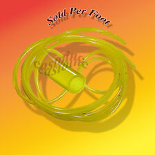 "1 Ft Tygon Clear Yellow Fuel Line ID 3/32"" OD 3/16"" Sold Per Foot"