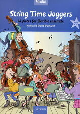 Kathy And David Blackwell: String Time Joggers (Violin Book With CD)