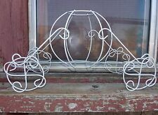 Vintage  Victorian Carriage Cinderella, Metal Wedding or Quince Events Decor